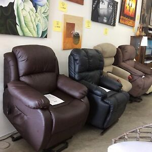 New Fabric or PU Electric Lift Recliner Chair with Warranty Thornlands Redland Area Preview