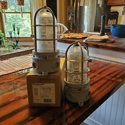 Killark Nvx15gg Vapor Proof Cage Light