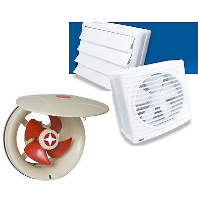 Badezimmer Ventilator (Badventilator  Lüfter/Ventilator/Motor Wand Fenster Bad Badezimmer Küche Klappe#)