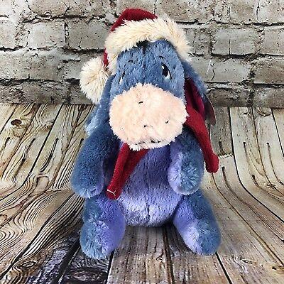 Disney Winnie The Pooh Eeyore Chirstmas Santa Hat 13