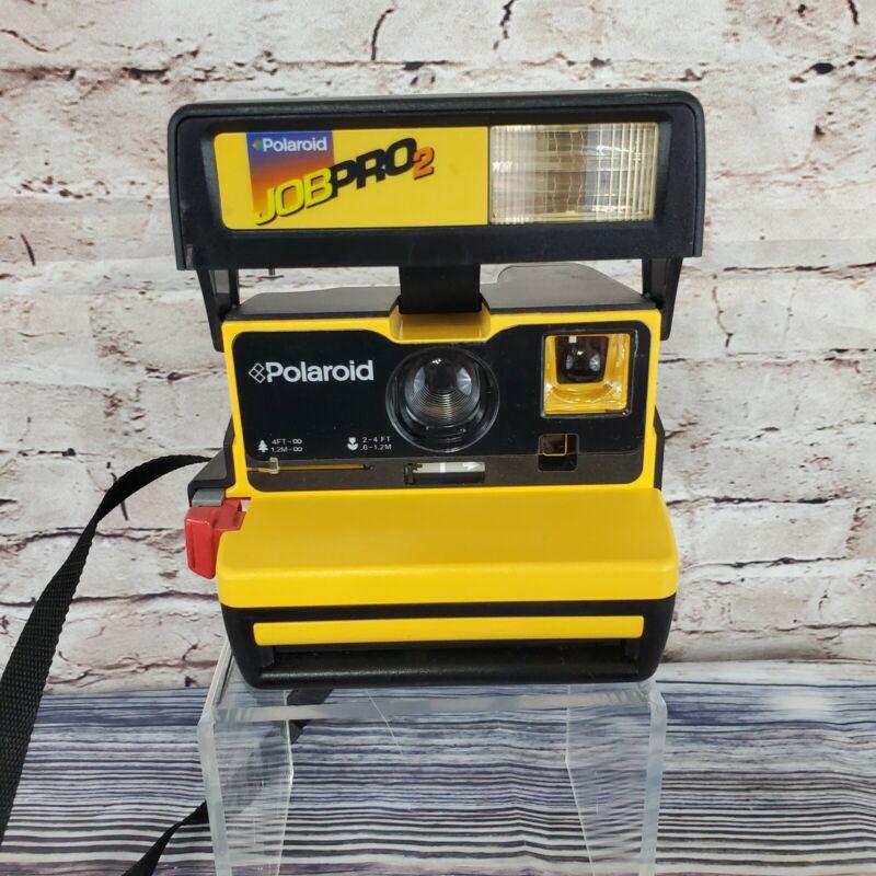 Vintage Polaroid 600 Film Job Pro 2 Instant Camera Untested