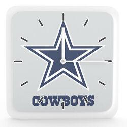 NFL Dallas Cowboys Home Office Room Decor Wall Desk Clock Magnet 6x6
