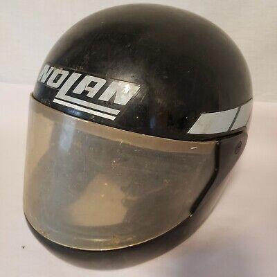 Vintage Nolan Motorcycle Racing Helmet - Display Man Cave Arts Collector Size L