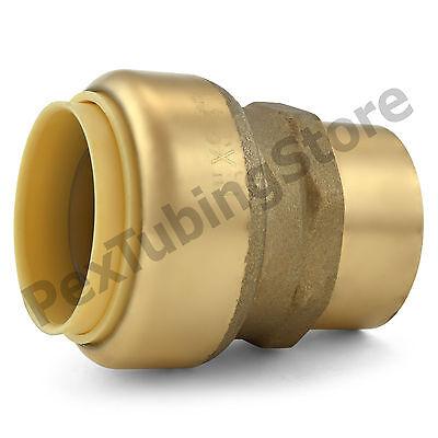 1 Sharkbite Style Push-fit X 34 Fnpt Lead-free Brass Fnpt Adapter