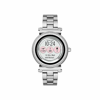 Michael Kors Access Slim Sofie Silver Smart Touchscreen Watch MKT5020