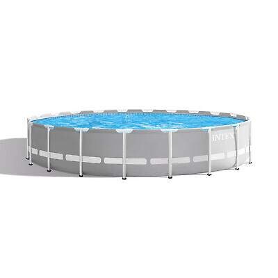 Intex 20 Foot x 52 Inch Prism Frame Above Ground Swimming Pool w/ Filter Pump Intex Frame Pool