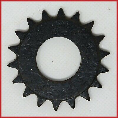 """JOYTECH 16T x 1//8/"""" SILVER TRACK COG FIXED GEAR 16 TOOTH 1//8 INCH 24 x 1.37/"""" TPI"""