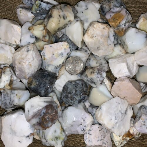 2000 Carat Lots of Unsearched Purple and White Opal Rough + a FREE faceted Gem