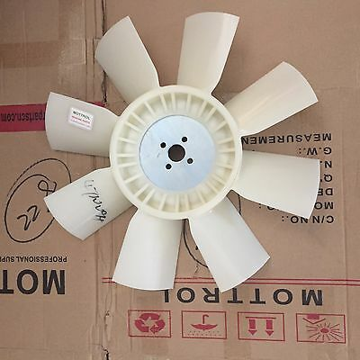 Fan Cooling Ym123910-44742 For Komatsu Backhoe Wb140-2 Wb150-2 Wb140-2t Wb140-2n