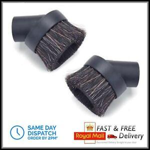 2x Dusting Brush Tool fits Numatic Henry Hetty James Harry Vacuum Cleaner Hoover