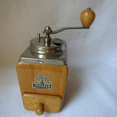 Armin Trösser Mokka 491 Holz-Mokkamühle mechanische Kaffeemühle Stahlmahlwerk
