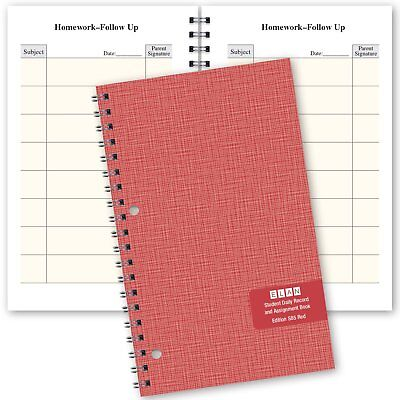 Elementary School Planner 5.5 X 8.5 S85-red