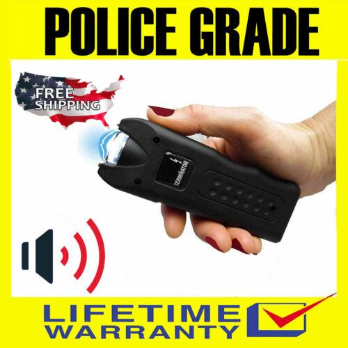 Terminator Stun Gun Police Grade  SGTAL - 650 BV with Ear-Piercing Siren