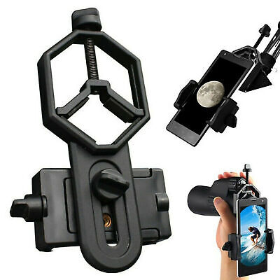 Telescopio Soporte para teléfono móvil Adaptador Soporte Clip Monocular