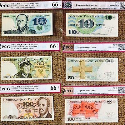 Billet Polonais 10,50,100zl GRANDING