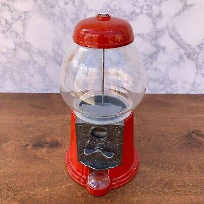 Vintage Red Gumball Machine Carousel Division - No. 11 Junior
