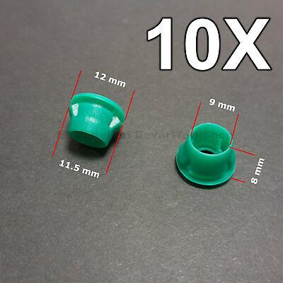 10X Rocker panel  fastening clips, rommets for BMW e32 e36 e46 e87 e90 etc.