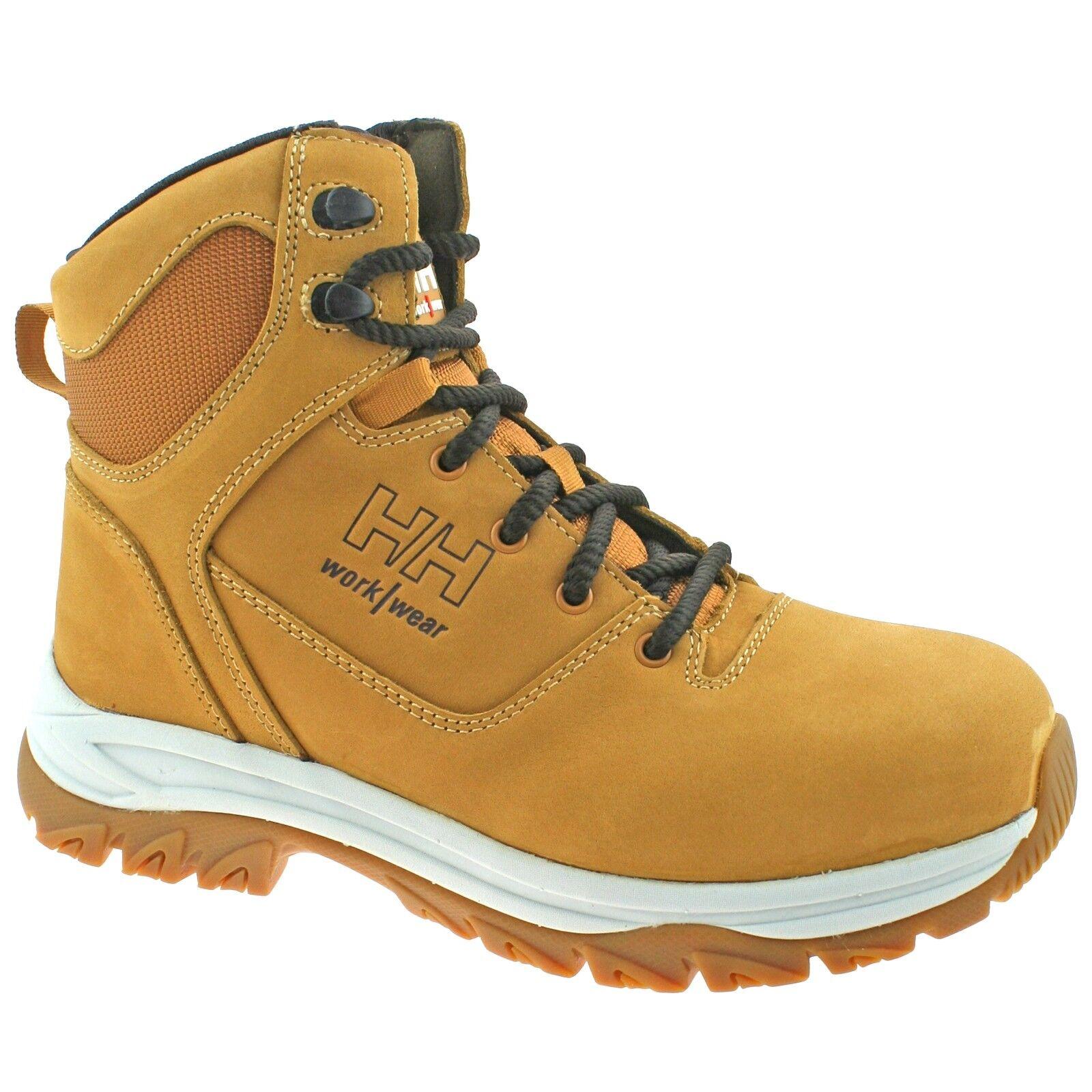 Mens Helly Hansen Ferrous Steel Toe//Midsole S3 Safety Work Boots Sizes 7 to 13