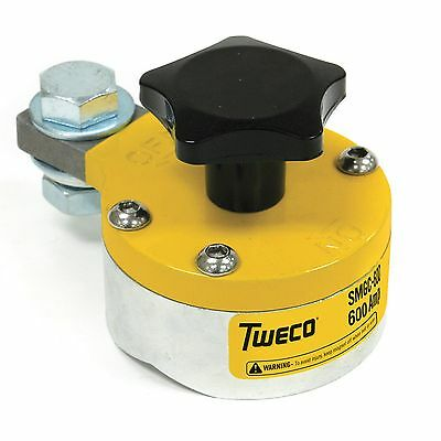 Tweco 600 Amp Smgc600 Magnetic Ground Clamp 9255-1062