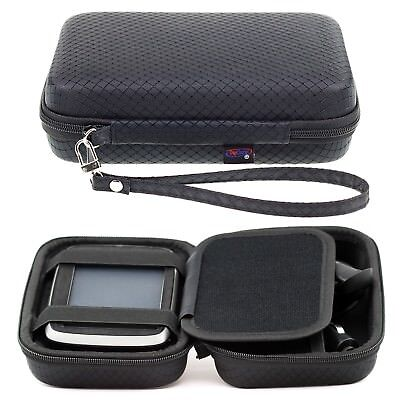 Black Hard Carry Case For TomTom One XL & XL LIVE IQ Routes Accessory Storage One Xl Carry Case