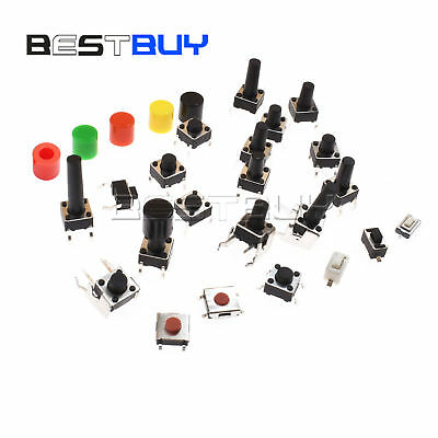 Smddip Tactile Push Switch Through Hole 3x6x2.5mm-6x6x17mm Right Angle 2-5p Bbc