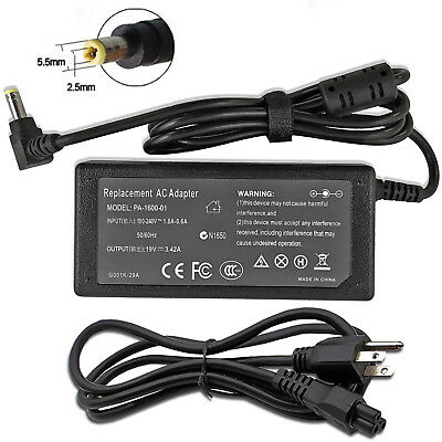 AC Adapter Power Charger For Toshiba Satellite C855-S5206 C855-S5231 C855D-S5315 ()