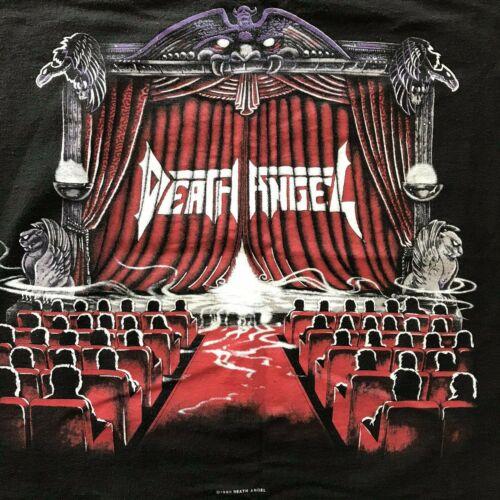 Vintage Death Angel Act III Shirt Large Metal Band 1990