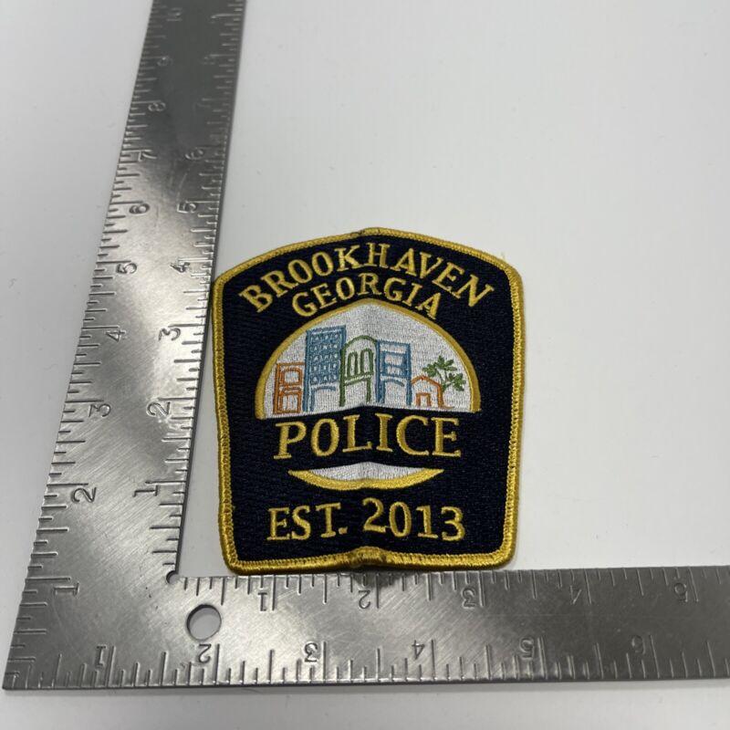 Brookhaven Police State Georgia GA Colorful