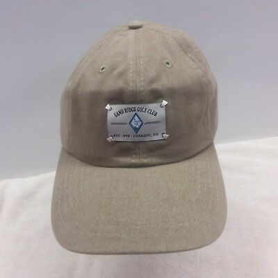 Sand Ridge Golf Club  Chardon  Oh    New Golf Hat   Khaki