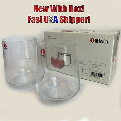 iittala Finnish 12.5 oz (350ml) Water Glasses 2 per Box New! $34.99 on Amazon