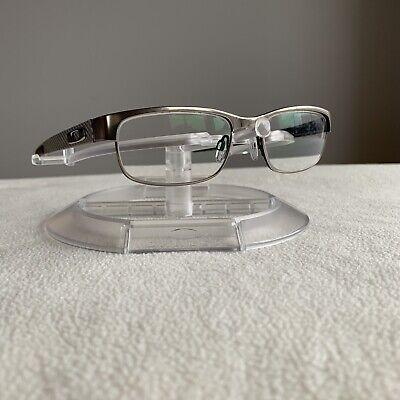 Oakley Eyeglasses Eye Glasses Frames OX5079-0253 53-18 Carbon Plate Light