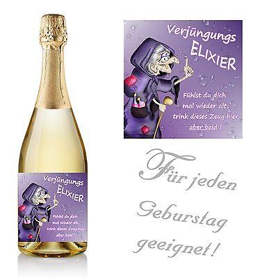 1 Aufkleber Flaschenetikett - Herzlichen Glückwunsch zum Geburtstag - Design 35