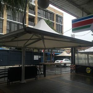 Cafe Awning Umbrella Outdoor Dining Structure Moorebank Liverpool Area Preview