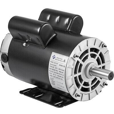 3.7 Hp Air Compressor Duty Electric Motor 56 Frame 3450 Rpm Single Phase Vevor