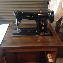 Singer 201K Vintage Treadle Sewing Machine with Cabinet West Lakes Shore Charles Sturt Area Preview