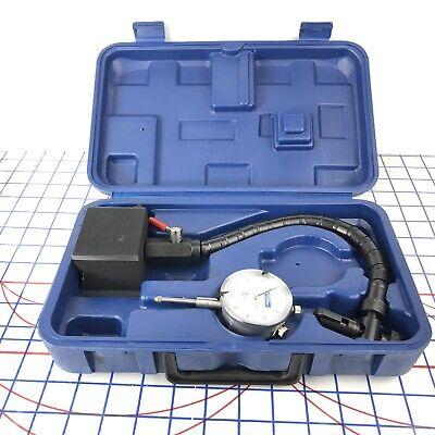Fowler High Precision Dial Indicator Gauge - Flexible Arm - Magnetic Base 16437