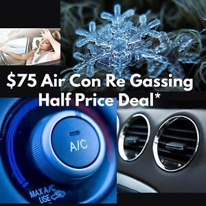 Half price $75 Ac Re-Gassing special offer (usually 190-210) Broadbeach Waters Gold Coast City Preview