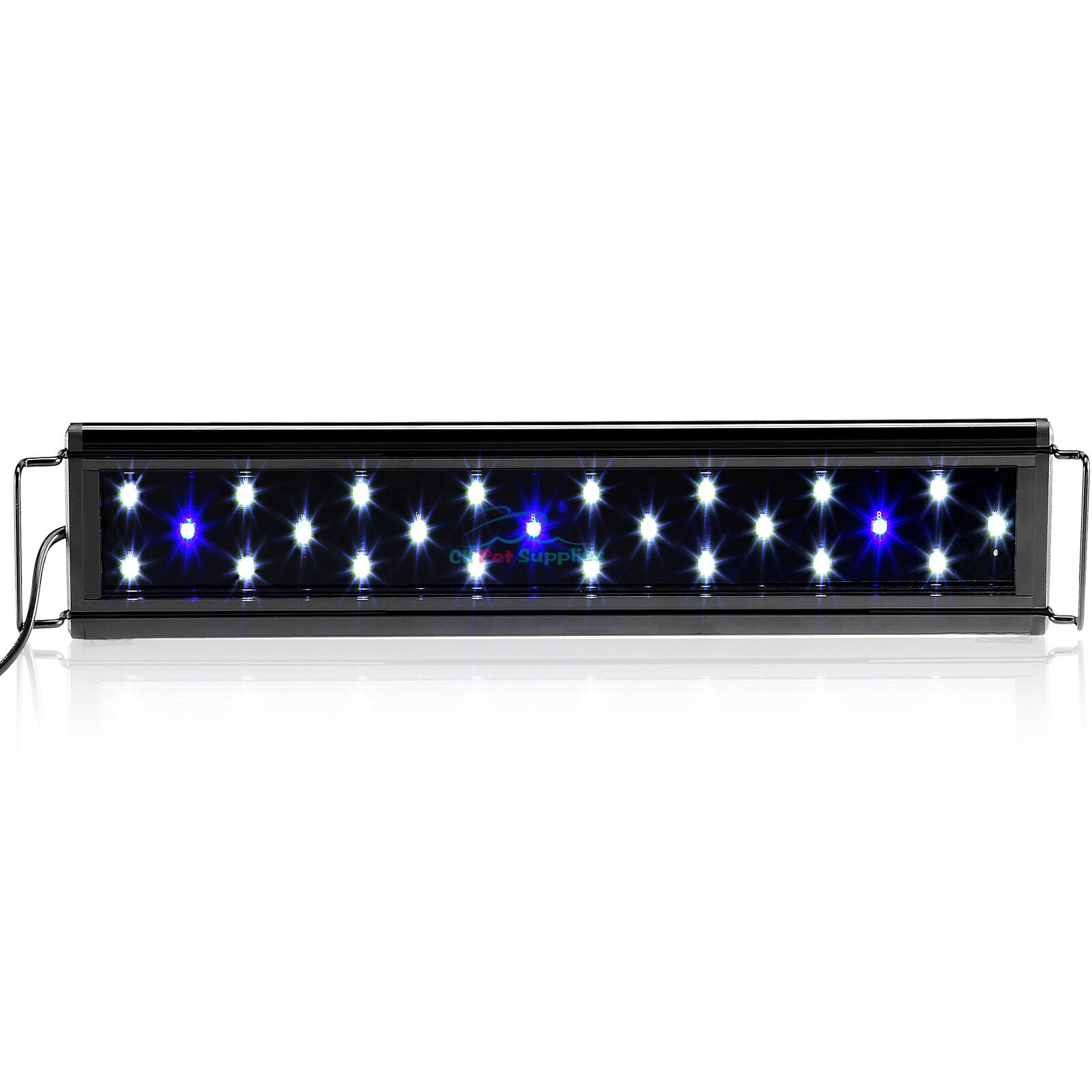 AQUANEAT 0.5W LED Aquarium Light Marine FOWLR Blue & White 24/36 Inch 1