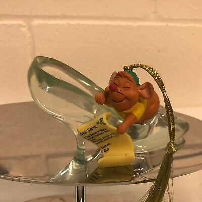 Disney Sketchbook Ornament Cinderella  Gus In Slipper PRESIDENTS EDITION
