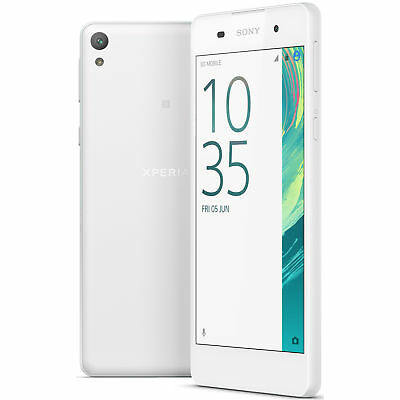 Sony Xperia E5 F3313 16GB Unlocked GSM 4G LTE Phone w/ 13MP Camera - White