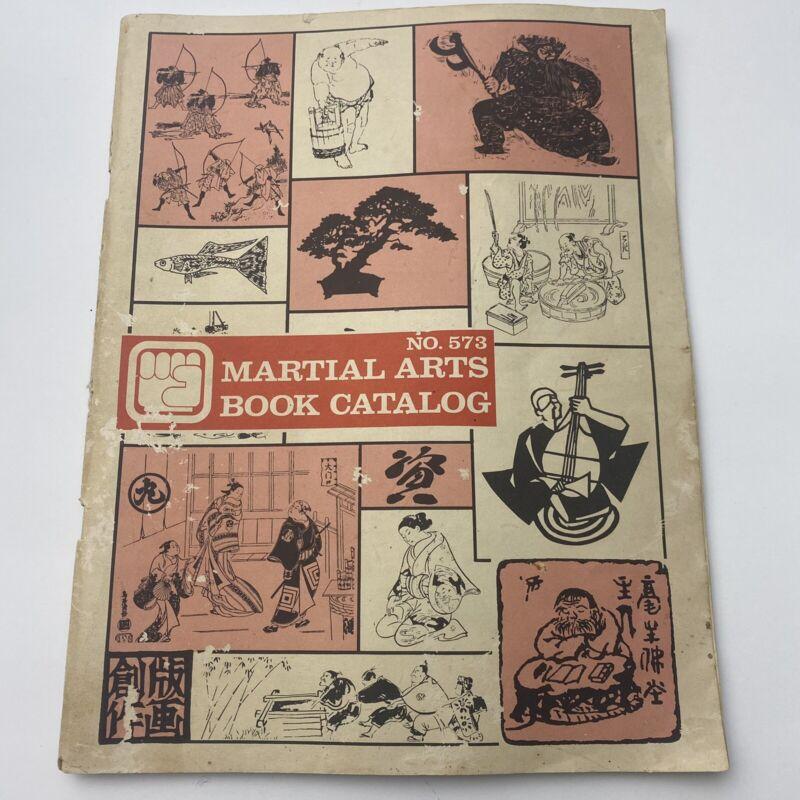 MARTIAL ARTS Book Catalog No. 573 Vintage 1973