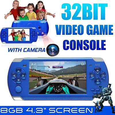 """4.3"""" PSP Video Game Console Player 32 Bit Built-In 10000 Game Portable Handheld"""