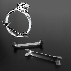 solid 925 sterling silver ring clip size adjuster reducer