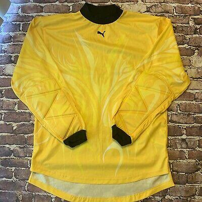 huge discount b93ba 8b6f0 Puma Soccer Goalkeeper Padded Jersey Shirt
