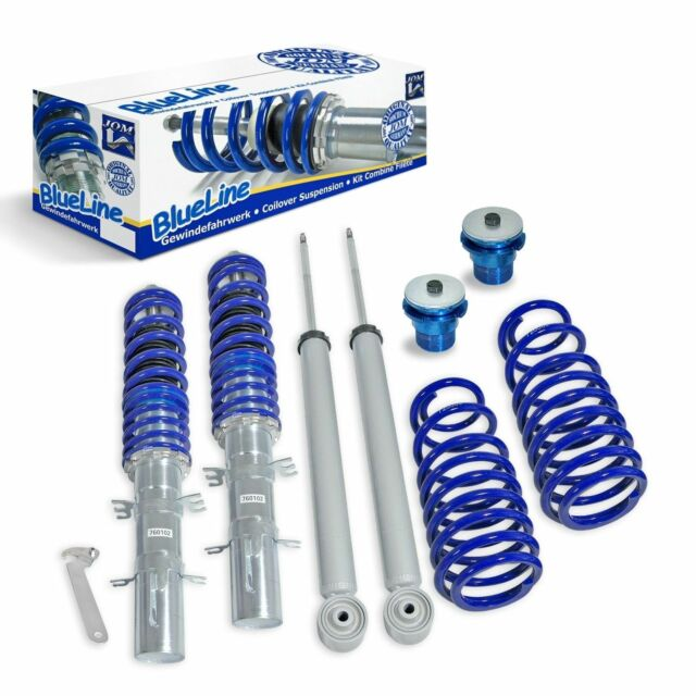 JOM Blueline Coilover Suspension Kit Audi A1 8X 1.2 TFSi FWD 2010-