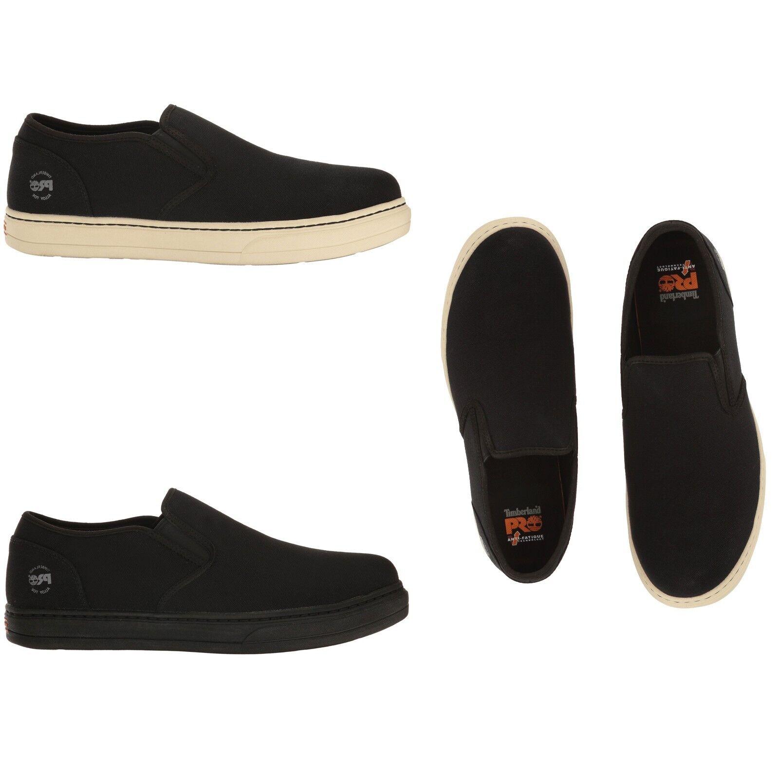 Timberland PRO Men Disruptor AlloyToe Slip-On Oil/Heat Resistant Work Shoes WIDE