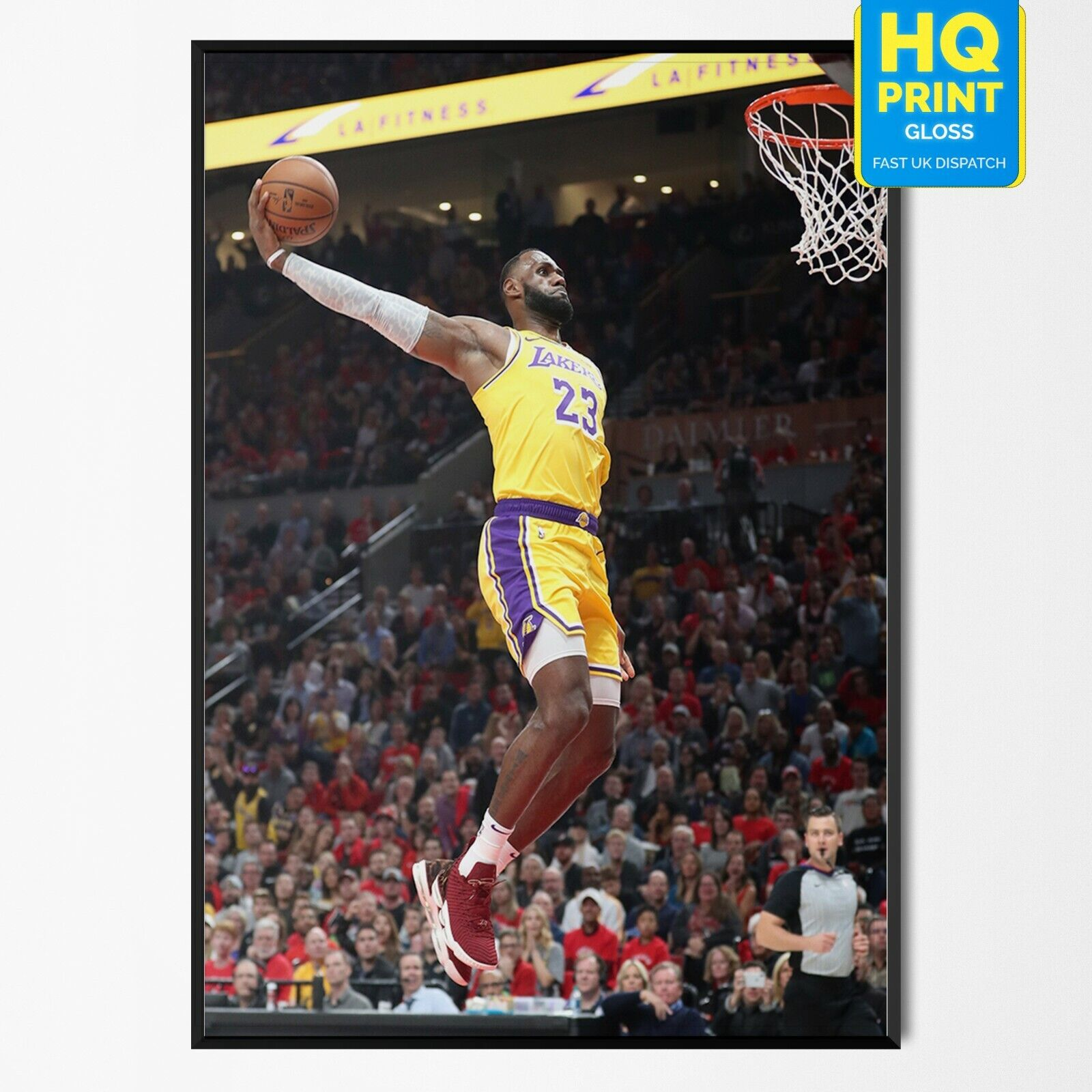 LEBRON JAMES Photo Quality Poster Choose a Size 1
