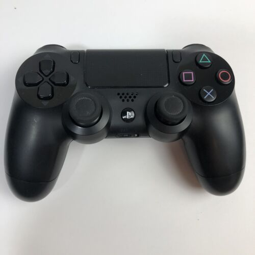 PS4 Wireless Controller Dualshock 4 For Sony PlayStation 4 Jet Black - $40.00