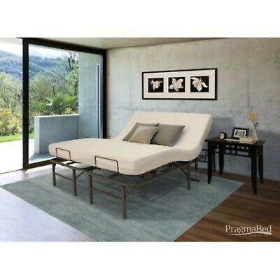 Bed Head Frame Split Cal King Size Adjustable Electric Lift Foot Pragmatic Beds