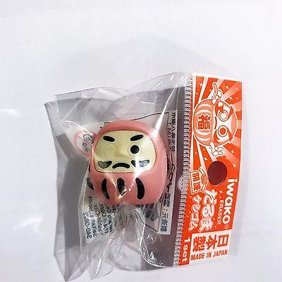 消しゴム Gomma Iwako - DARUMA Rosa - Made in Japan - Import direct